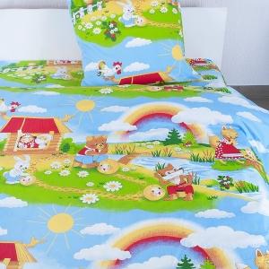 Детское постельное белье из бязи Шуя 1.5 сп 91391 ГОСТ