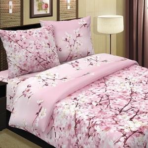 Поплин 220 см 115 г/м2 574/1 Сакура основа цвет розовый