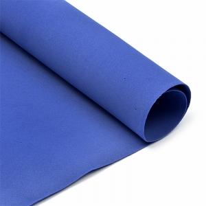 Фоамиран в листах 1 мм 50/50 см уп 10 шт MG.A025 цвет темно-синий