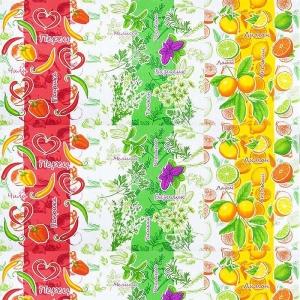 Вафельное полотно набивное 150 см 10643 Витамины