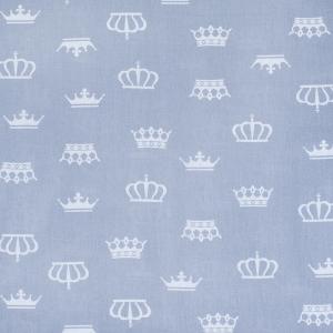 Ткань на отрез бязь плательная 150 см 1694/17 цвет серый