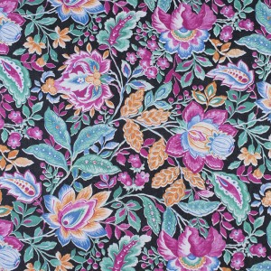 Ткань на отрез фланель 80 см 12710 Цветы