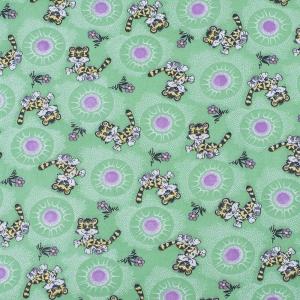 Ткань на отрез фланель 80 см 15720 Тигрята