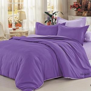 Полисатин гладкокрашеный 220 см цвет 18-3633 фиолетовый