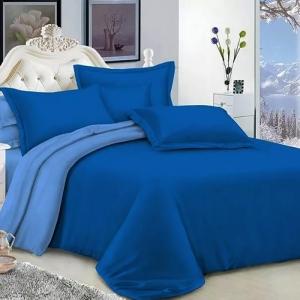 Полисатин гладкокрашеный 220 см цвет 18-4140 синий