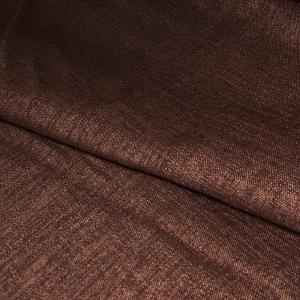 Ткань на отрез Blackout лен 91/15 цвет шоколад
