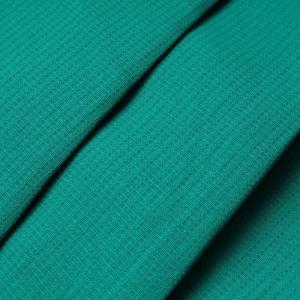 Вафельное полотно гладкокрашенное 150 см 165 гр/м2 цвет изумруд