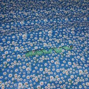 Ткань на отрез бязь плательная 150 см 10462/3 цвет синий