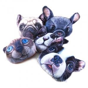 Декоративная подушка Животные с эффектом 3D