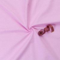 Ткань на отрез бязь плательная 150 см 1554/22 цвет розовый