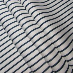 Ткань на отрез сатин набивной 245 см 213KL-N026 Звездная полоса на белом