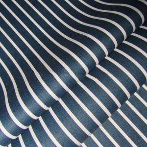Ткань на отрез сатин набивной 245 см 213KL-W026 Белая полоса на звездном