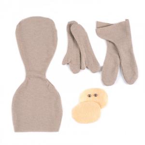 Набор стачанных заготовок для шитья куколки НЗ-001