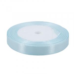 Лента атласная 12мм 25ярд №011 цвет голубой