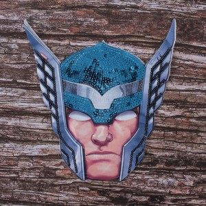 Декоративный  элемент пришивной Супергерой 20,5*14,5 см