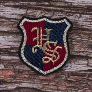 Декоративный элемент (нашивка) пришивной ХОГВАРТС 5,5*6 см