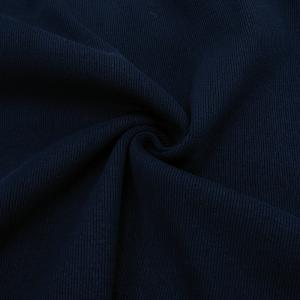 Ткань на отрез кашкорсе 3-х нитка с лайкрой цвет синий