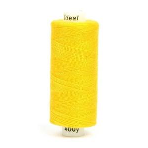 Нитки бытовые Ideal 40/2 100% п/э 135 желтый