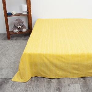 Простыня перкаль 2049311 Эко 11 желтый 1.5 сп