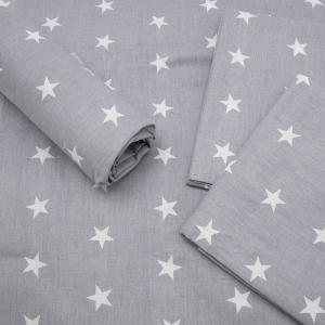 Набор детских пеленок поплин 4 шт 73/120 см 2023/2 цвет серый