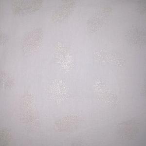 Тик 220 см 145 +/- 5 гр/м2 Перо серебро на белом
