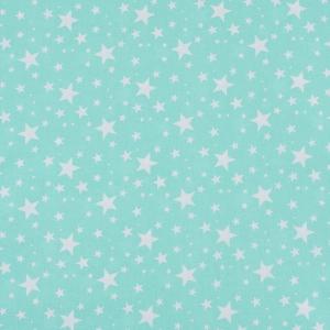 Поплин 150 см 433/16 Звездочка цвет мята