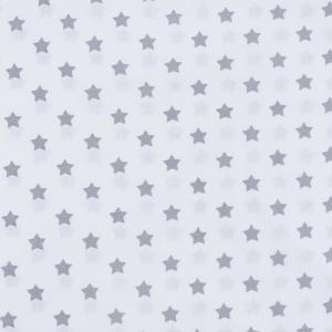 Поплин 150 см 390А/17 Звездочки цвет серый