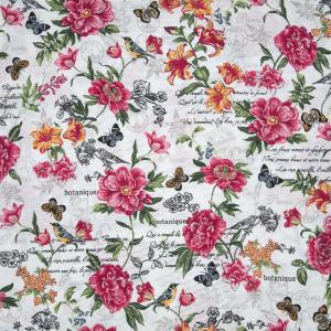 Ткань на отрез вафельное полотно набивное 150 см 35060/1 Флоренция