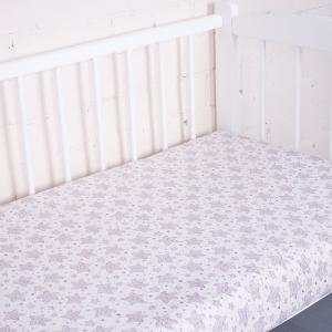 Простыня трикотажная на резинке Премиум цвет 1309-V3 60/120/12 см