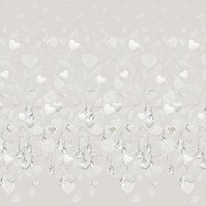 Бязь Премиум 220 см набивная Тейково рис 6881 вид 1 Серебряный век
