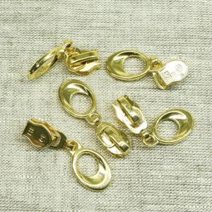 Бегунок спираль №5 золото