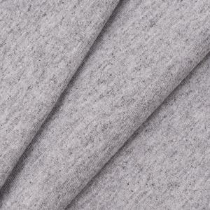 Ткань на отрез кулирка с лайкрой Melange цвет серый