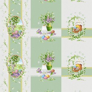 Рогожка 150 см 11569/1 Весна