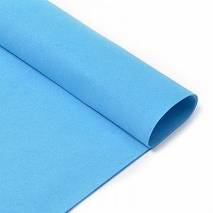 Фоамиран в листах 1 мм 50/50 см уп 10 шт MG.A045 цвет синий