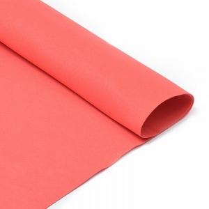 Фоамиран в листах 1 мм 50/50 см уп 10 шт MG.N029 цвет красный