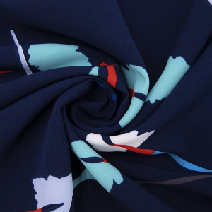 Ткань на отрез барби Кисточки на синем