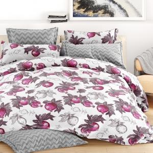 Ткань на отрез бязь 120 гр/м2 220 см 28606/2 Гранат цвет фиолетовый
