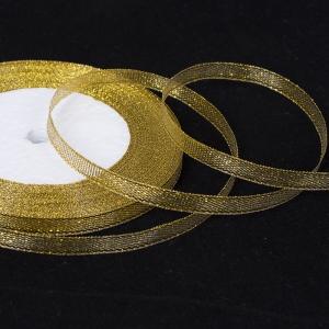 Лента люрекс золото 6мм МС-1