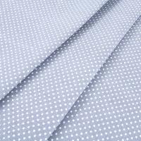Ткань на отрез бязь плательная 150 см 1554/20 цвет серый