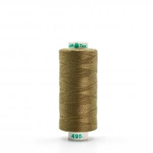 Нитки бытовые Dor Tak 40/2 366м 100% п/э, цв.495 оливковый
