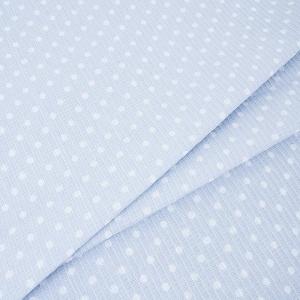 Вафельное полотно набивное 150 см 1171/4 Горох цвет серый
