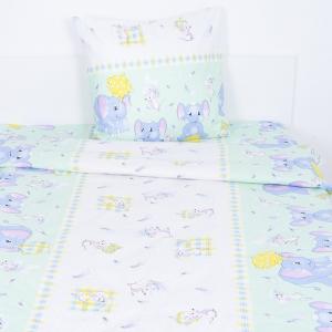 Детское постельное белье из бязи Шуя 1.5 сп 92981 ГОСТ