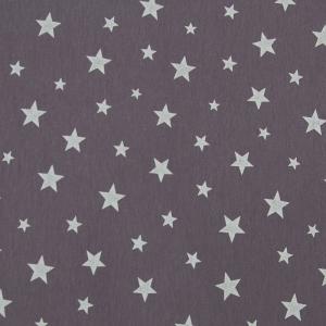 Ткань на отрез кулирка Звезды 1100-V4