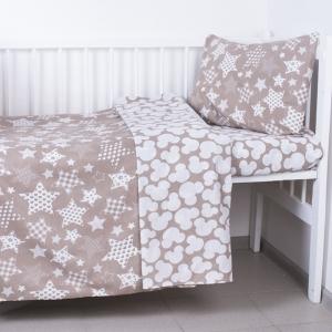 Постельное белье в детскую кроватку 110