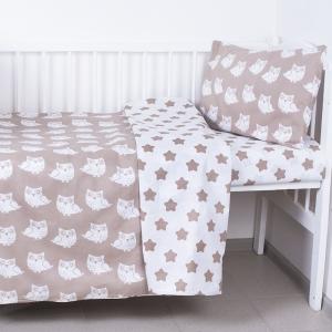 Постельное белье в детскую кроватку из бязи 112