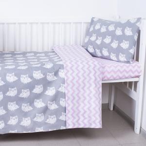 Постельное белье в детскую кроватку из бязи 119
