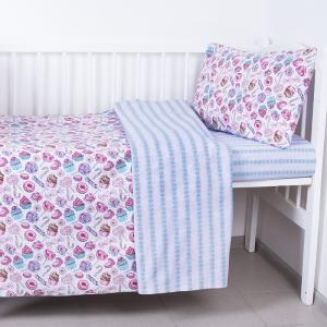 Постельное белье в детскую кроватку 124