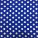 Ткань на отрез вафельное полотно набивное 150 см 568-5п цвет синий
