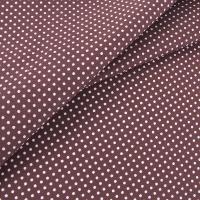 Ткань на отрез бязь плательная 150 см 1554/2 цвет коричневый