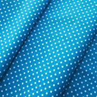 Ткань на отрез бязь плательная 150 см 1554/6 цвет морская волна